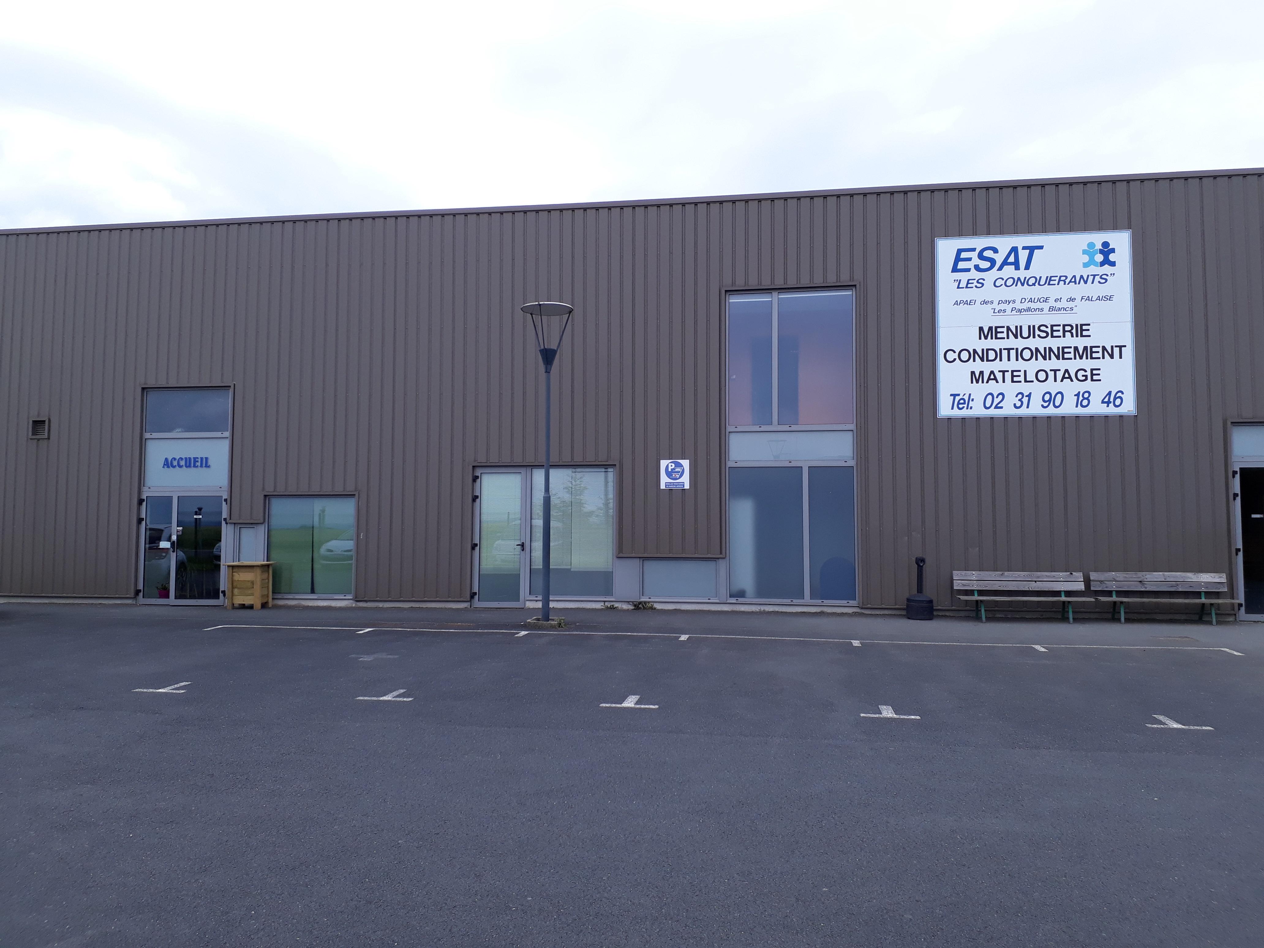 ESAT Les Conquérants (Falaise) - Bâtiment