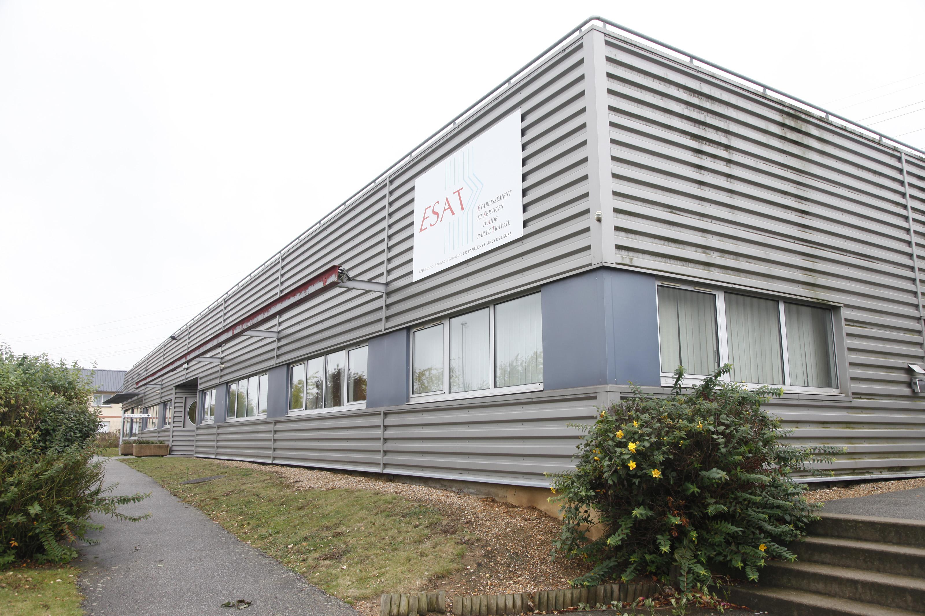 ESAT Les Ateliers du Beffroi (Evreux) - Bâtiment