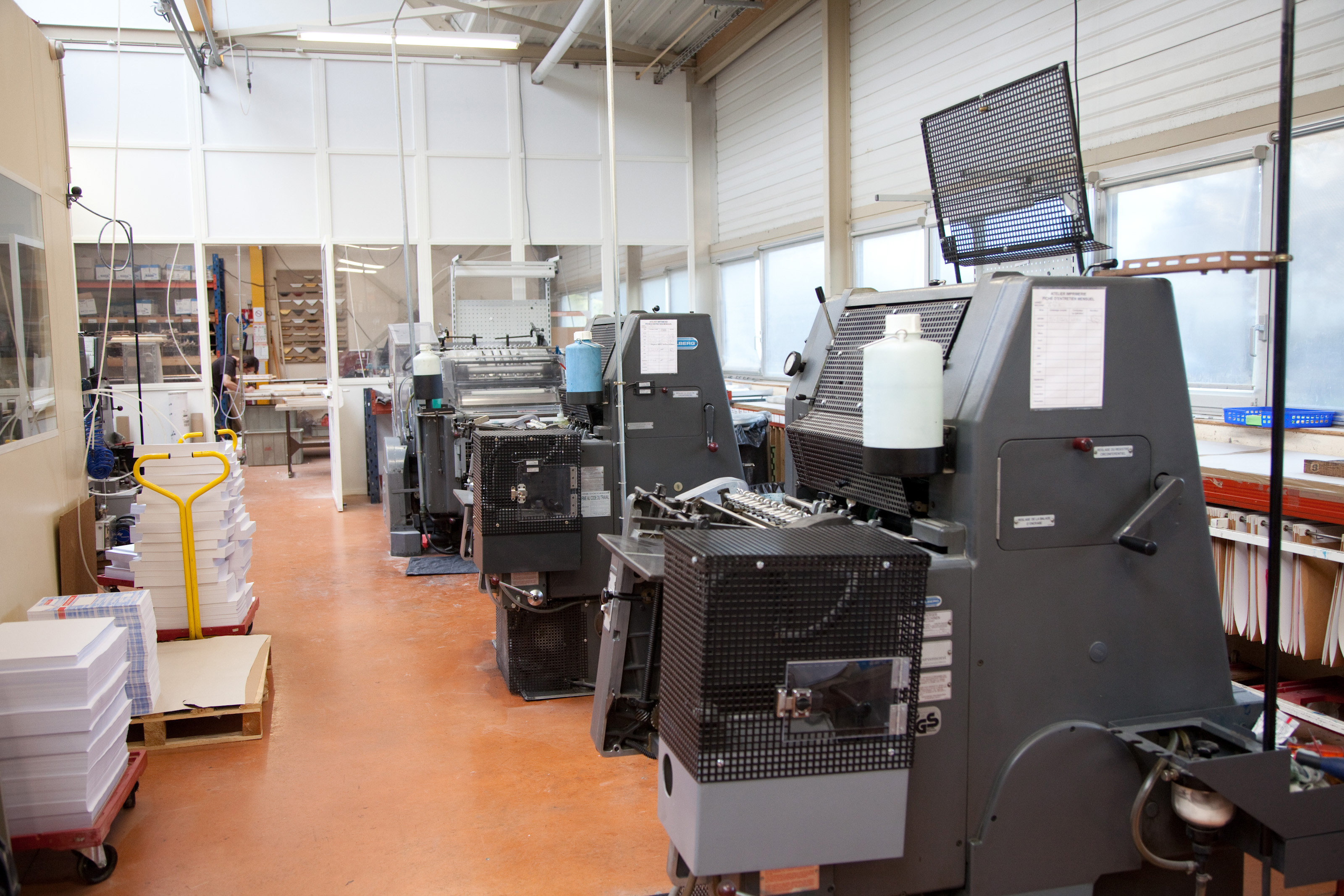 ESAT Les Ateliers du Beffroi (Evreux) - Imprimerie