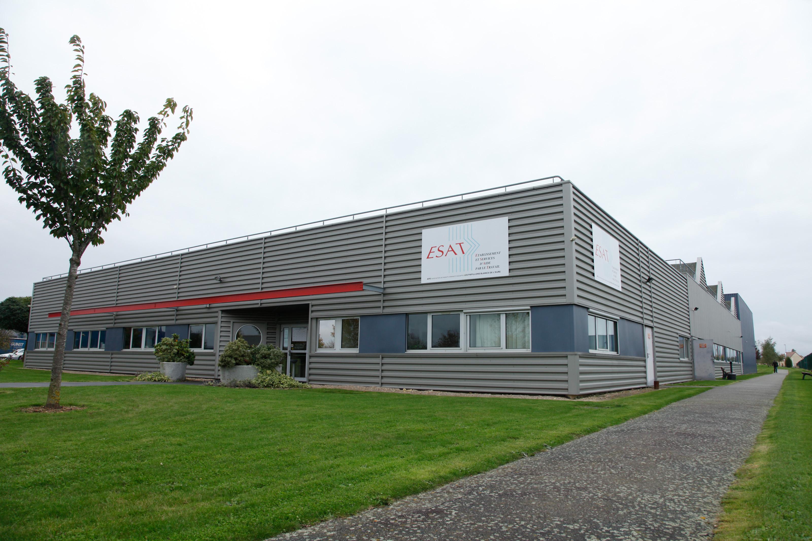 ESAT du Parc Saint Denis (Verneuil Sur Avre) - Bâtiment