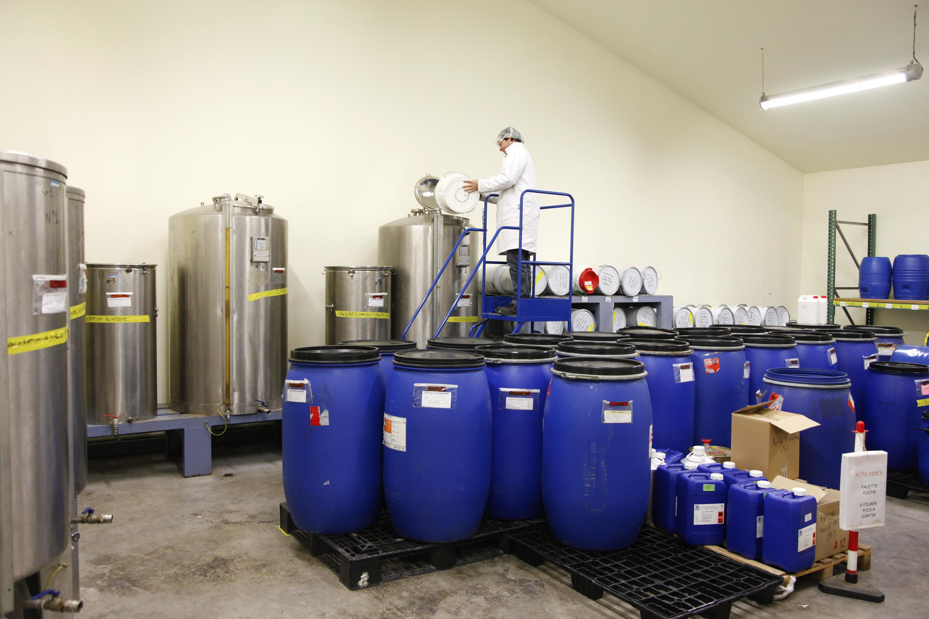 ESAT Les Ateliers Château Gaillard (Les Andelys) - Production de parfums